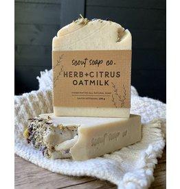 Scout Soap Co Herb + Citrus Oatmilk Soap