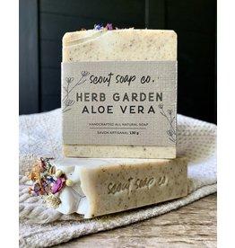 Scout Soap Co Herb Garden Aloe Vera Soap