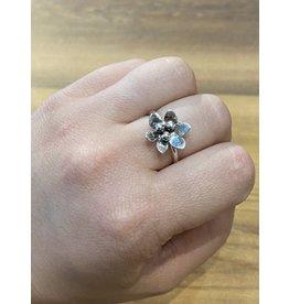 Blackbird Silversmith Daisy Ring #1 Size 7