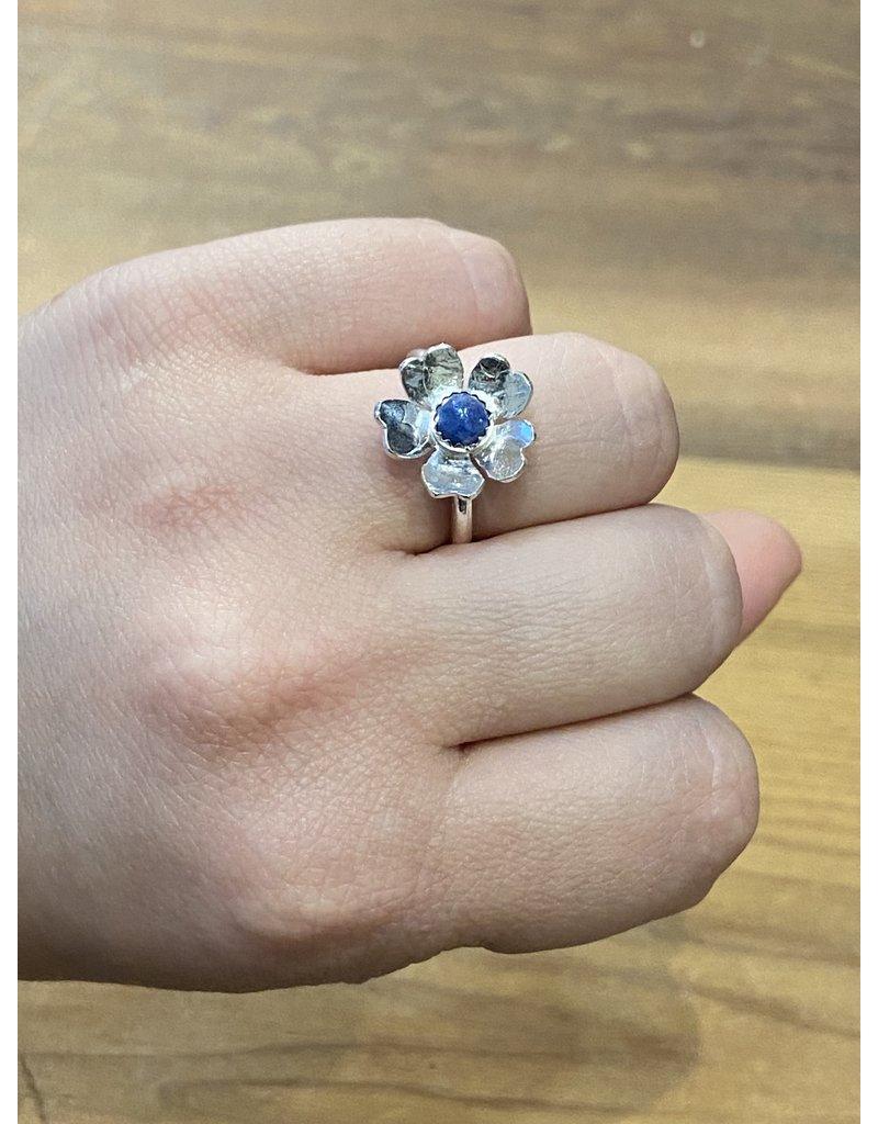 Blackbird Silversmith Daisy Ring #2 Size 6