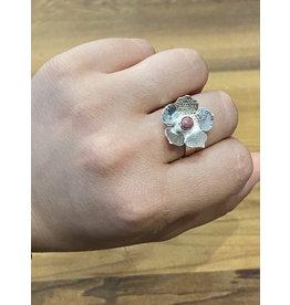 Blackbird Silversmith Daisy Ring #5 Size 7.5