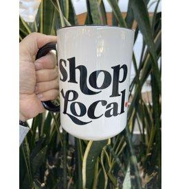 Cultured Coast Shop Local 15oz Mug