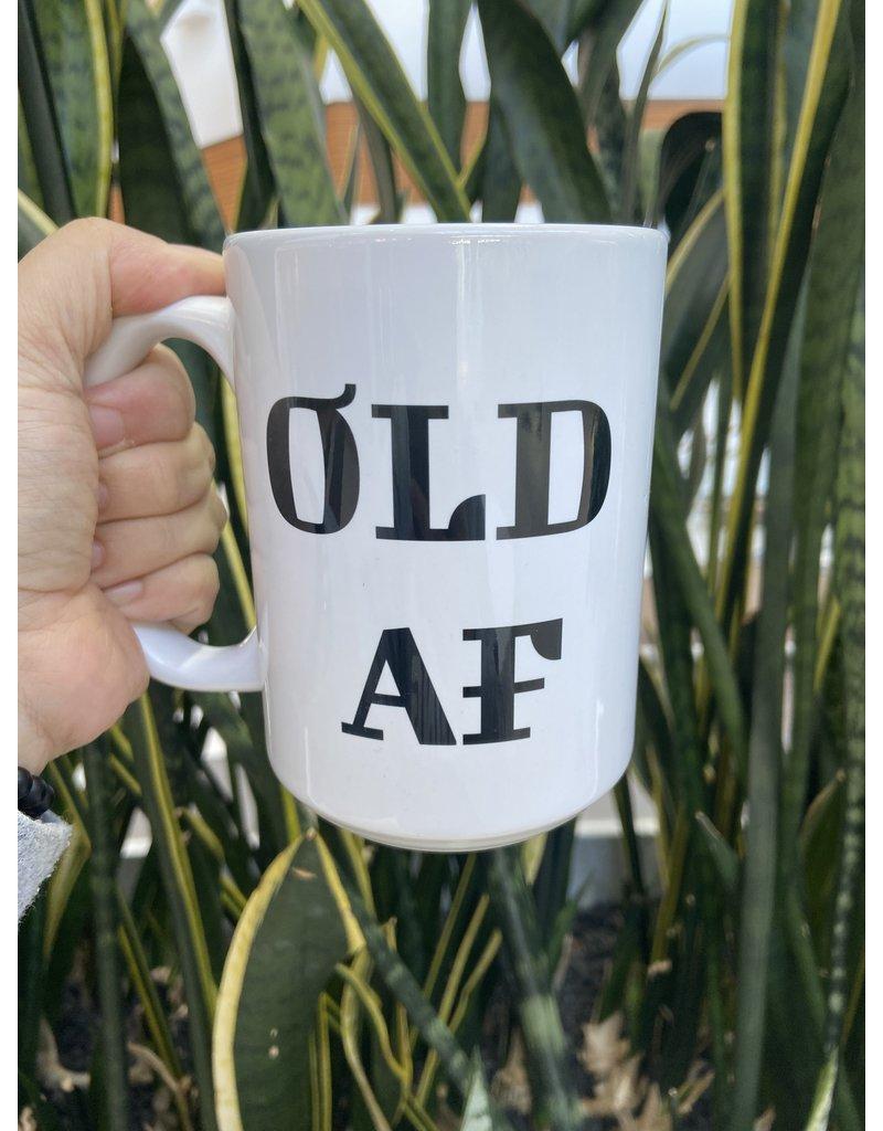 Cultured Coast Old AF 15oz Mug