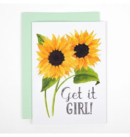 Naughty Florals Get It Girl Card