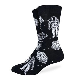 Good Luck Sock Men's Floating Astronaut Socks