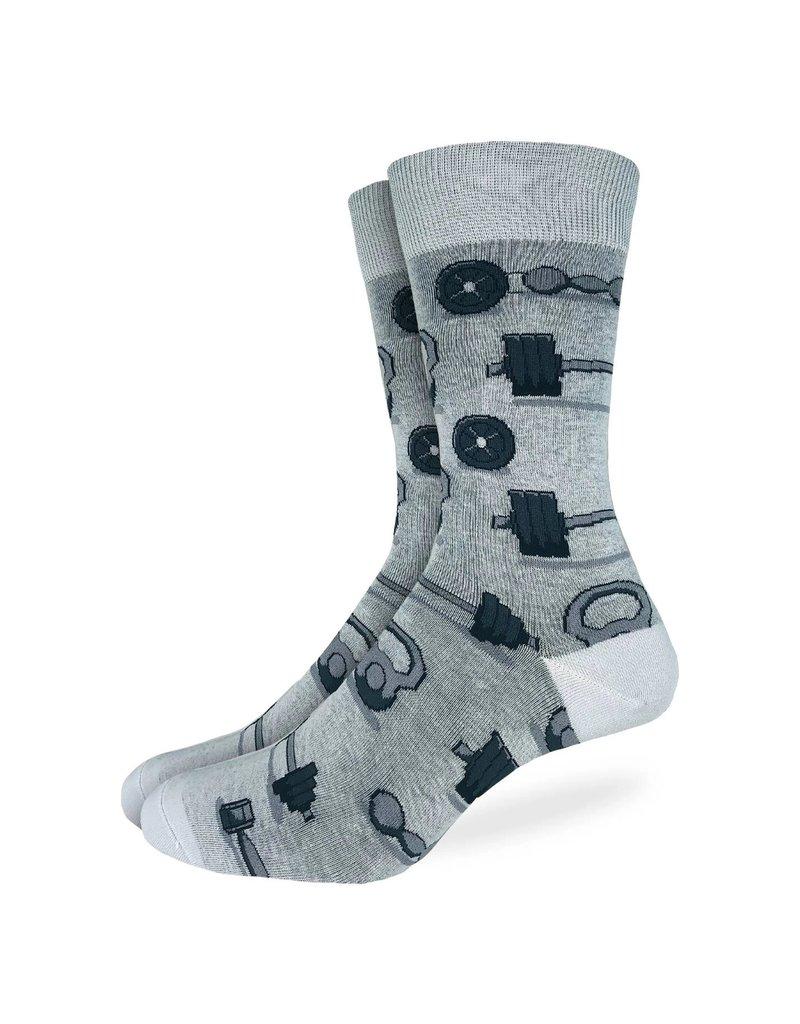 Good Luck Sock Men's Weights & Dumbbells Socks