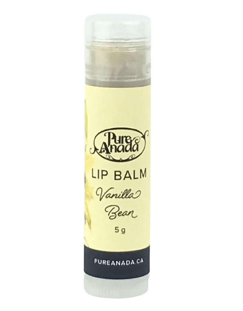 Pure Anada Natural Cosmetics Vanilla Bean Lip Balm