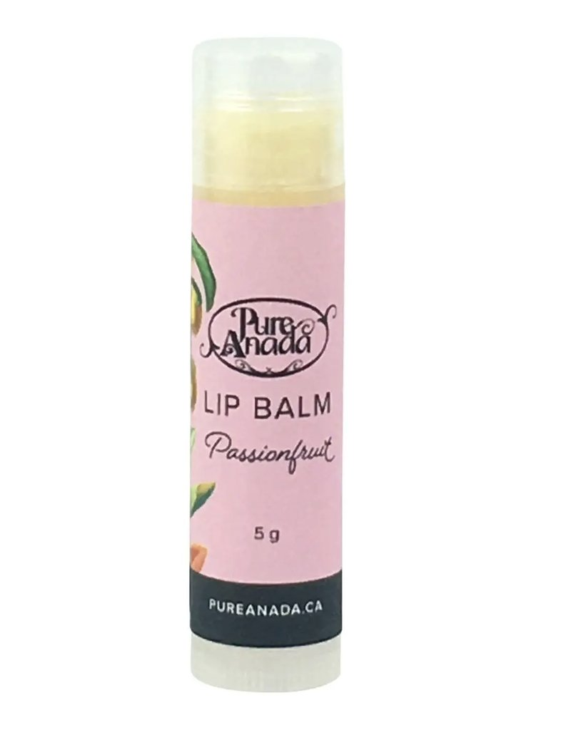 Pure Anada Natural Cosmetics Passion fruit Lip Balm