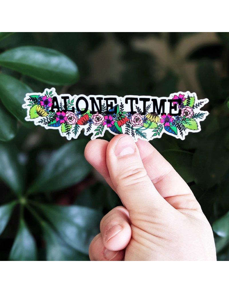 It's OK. It's ART. Alone Time Sticker