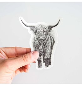 Pen on Paper Co Highland Cow Sticker