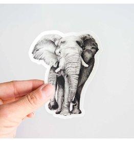 Pen on Paper Co Elephant Sticker