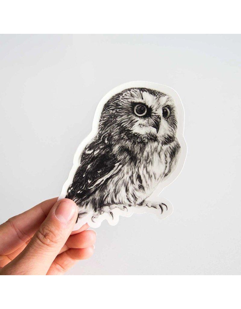 Pen on Paper Co Owl Sticker