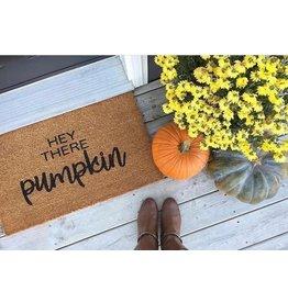 Aspen Blue Co Hey There Pumpkin Doormat