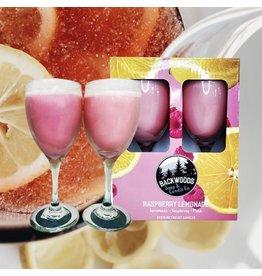 Backwoods Soap & Co Raspberry Lemonade Wine Glass Set