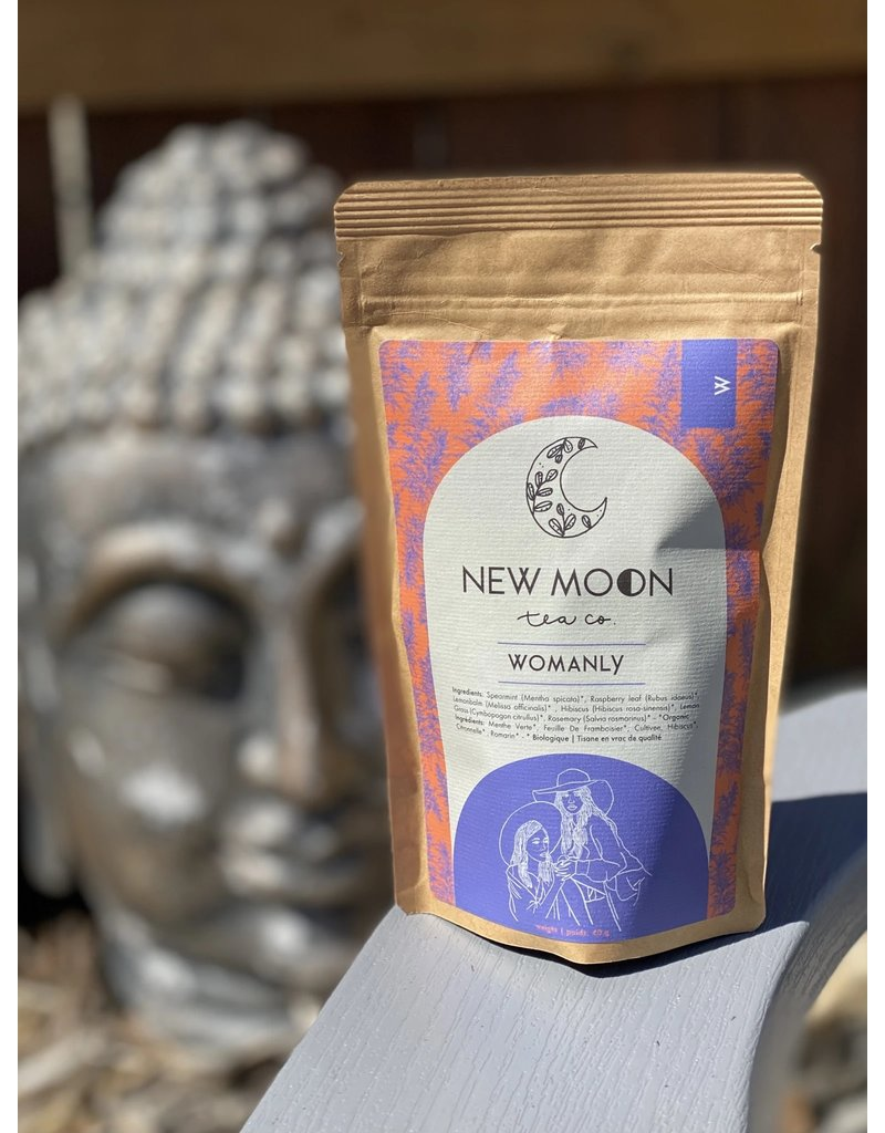 New Moon Tea Co Womanly- Loose Leaf Tea