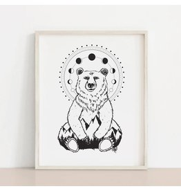 MELI.THELOVER Bear Mystic Art Print