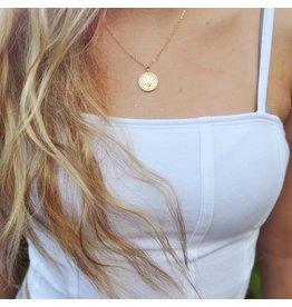 Oh So Lovely Sun Ray Opal Eye Necklace