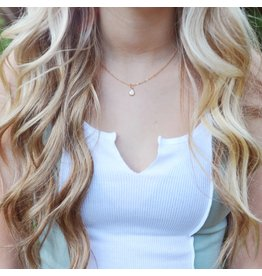 Oh So Lovely Opal Necklace