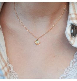 Oh So Lovely Opal Adine Necklace