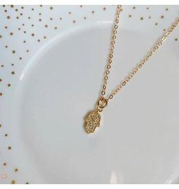 Oh So Lovely Hamsa Hand Necklace