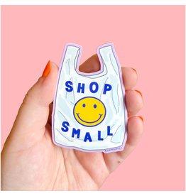 The Peach Fuzz Shop Small Sticker
