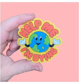 The Peach Fuzz Dying Earth Sticker