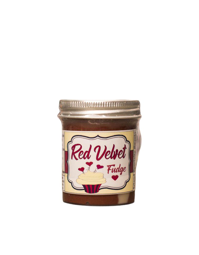 Island Specialty Sweets Red Velvet Fudge