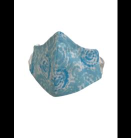 Buffy's Face Diapers Kids Blue Tye Dye Mask