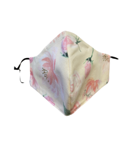 Buffy's Face Diapers Pink Floral Mask