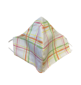 Buffy's Face Diapers Spring Plaid Mask