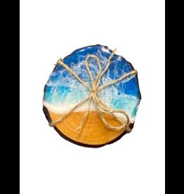 West Coast Resin Art Resin Live Edge Coasters 7