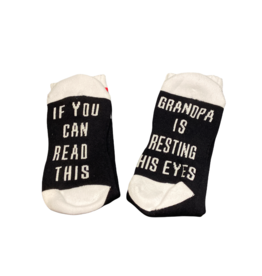 Sock Barn Mens If you can read this socks - Grandpa