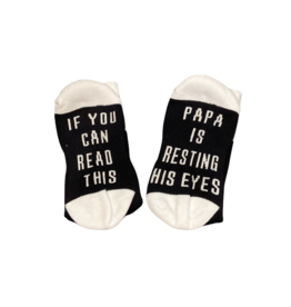 Sock Barn Mens If you can read this socks - Papa
