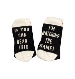 Sock Barn Mens If you can read this socks - Game