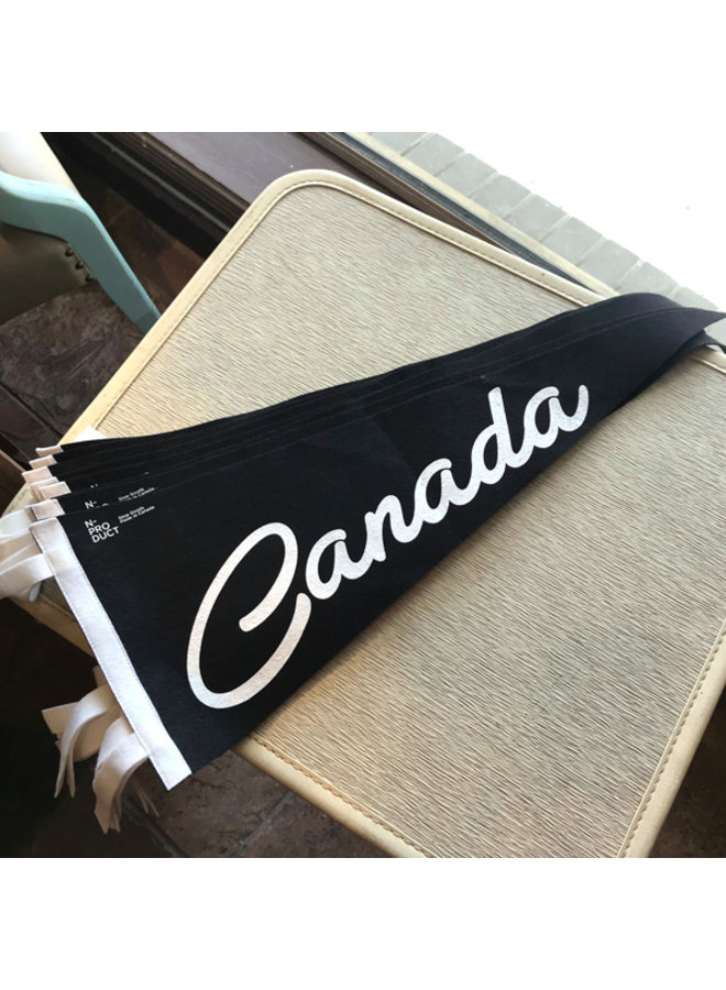Felt Canada Pennant