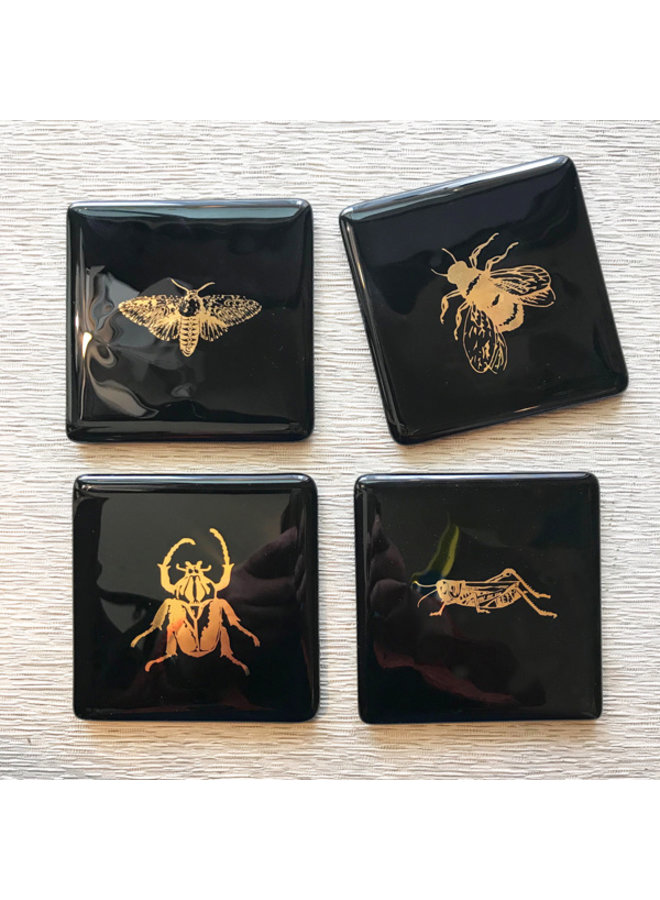 Gold Bug Coasters