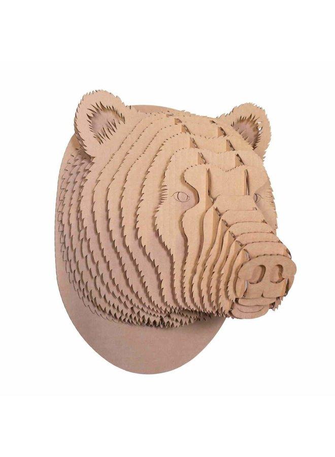 Large Cardboard Animal Head