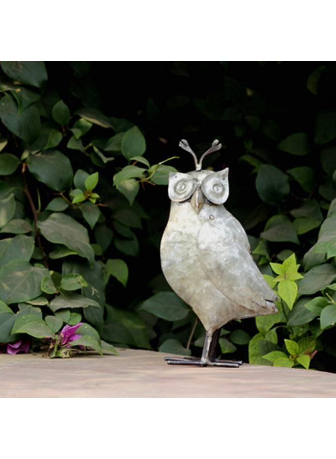 Recycled Owl Figurine