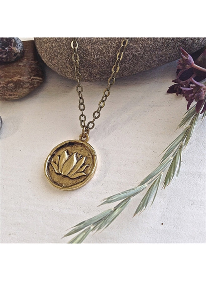 Round Talisman Necklace