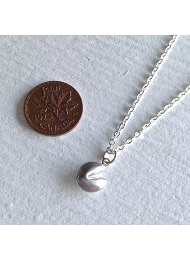 Tiny Silver Charm Necklace
