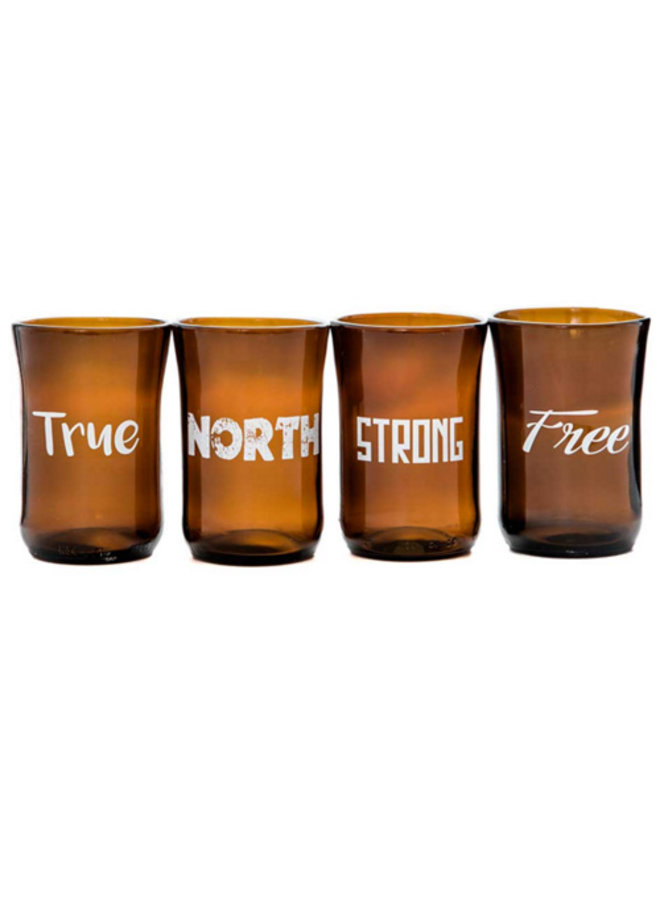 Recycled Glass Tumbler Set