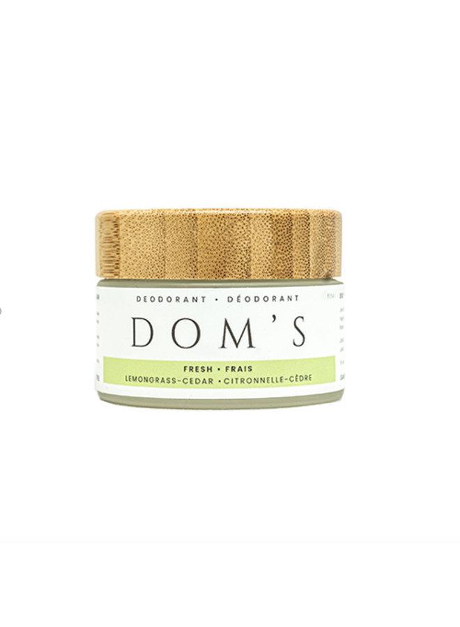 Dom's Deodorant