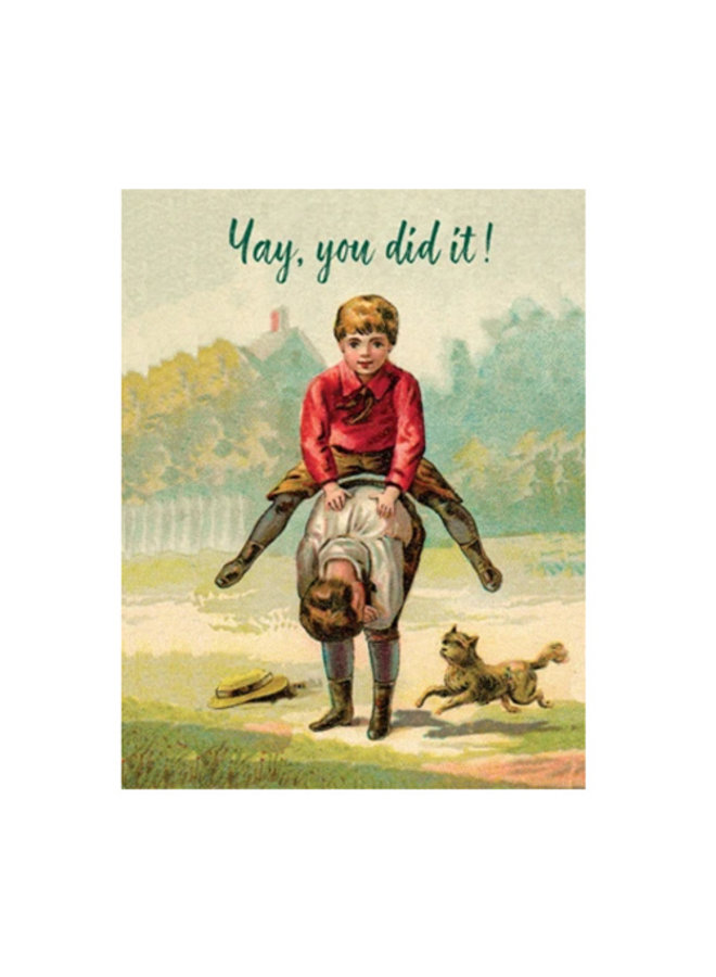 Vintage Encouragement Card