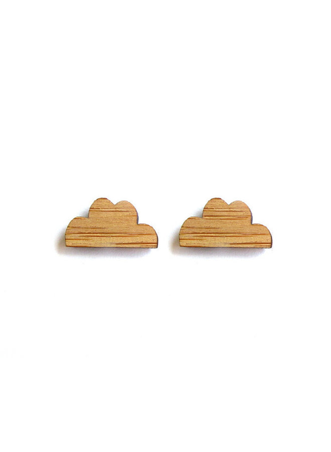 Tiny Bamboo Earrings