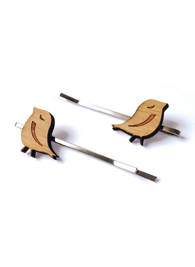Bamboo Hair Pins