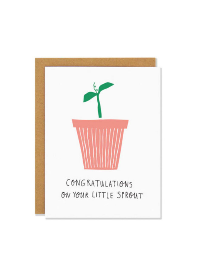 Hand Drawn Baby Card