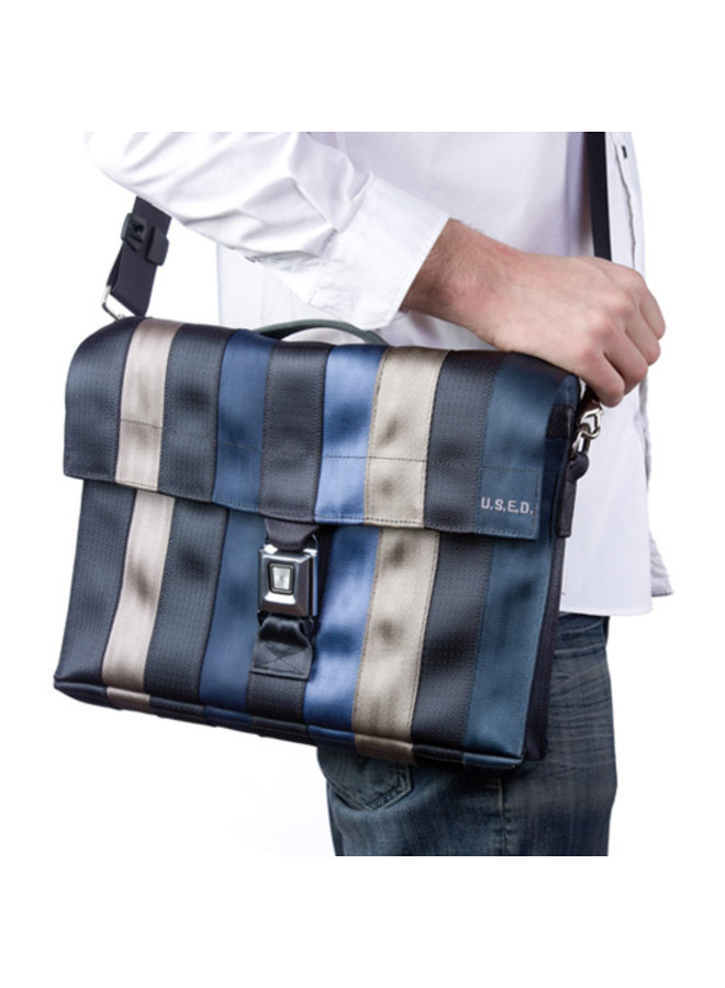 Recycled Seat Belt Laptop Briefcase