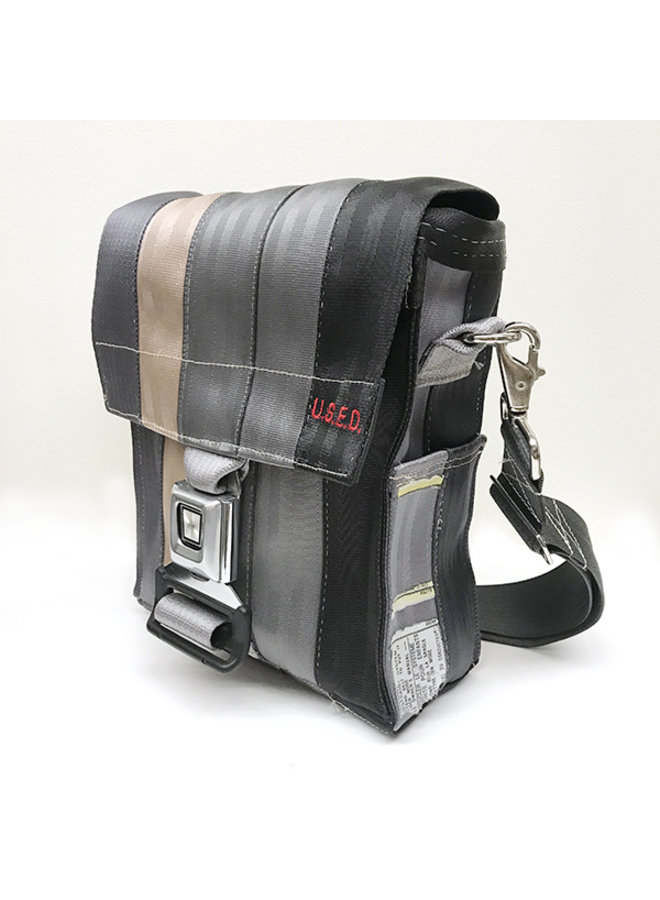 Recycled Seat Belt iPad Bag