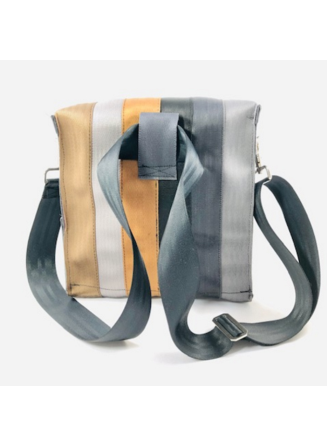 Recycled Seat Belt Backpack