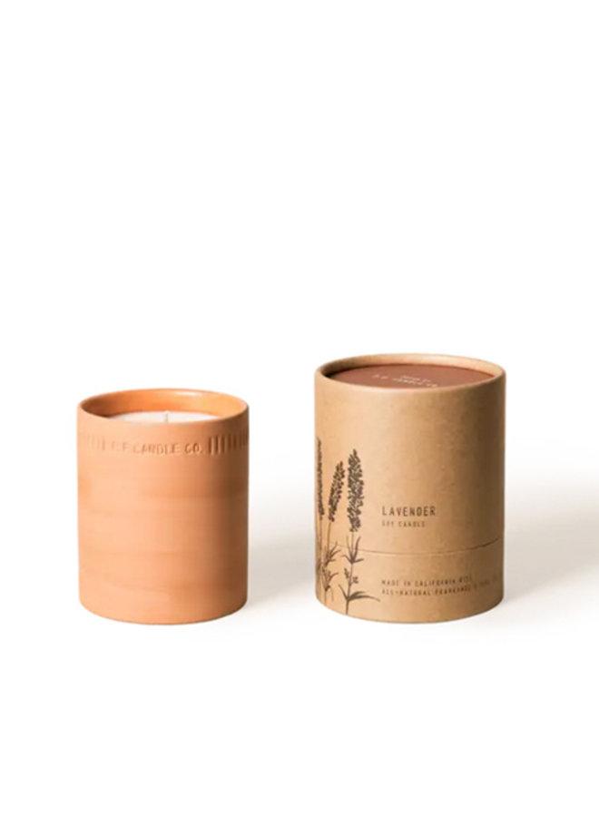 Terra Cotta Candle